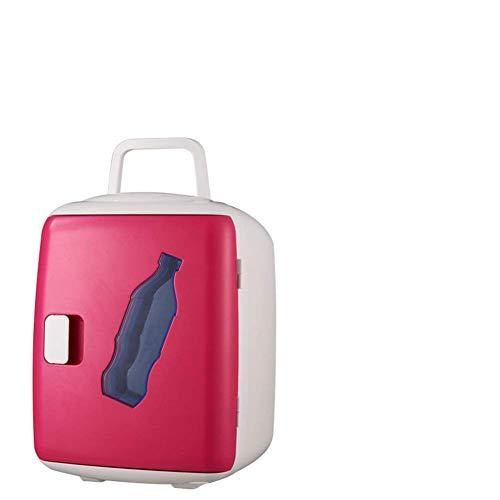 NLRHH Compact-refrigeradores, Mini Nevera Mini pequeña casa Mini refrigerador Estudiante Dormitorio hogar Doble Uso frío refrigerador refrigerador-j 23x16x15cm (9x6x6inch) Peng