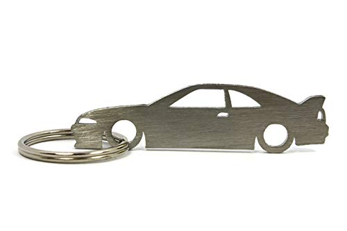 Silhouette Keychain Keyring compatible with Skyline GT-R R33 Key Fob