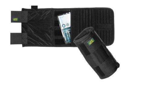 USG Wärme- und Kühlgamasche, schwarz, 2 Stück