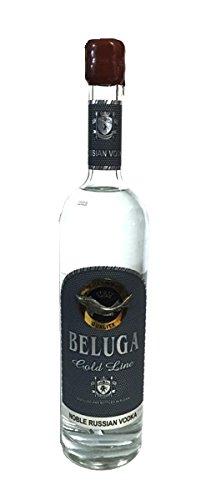 Beluga Gold Line Russian Vodka in Geschenkverpackung 40% Magnum Flasche