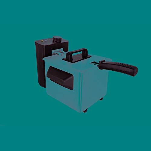 ORBEGOZO 17375 FREIDORA compacta con Cuerpo de Acero Inoxidable FDR 18 1,5L, 32,00