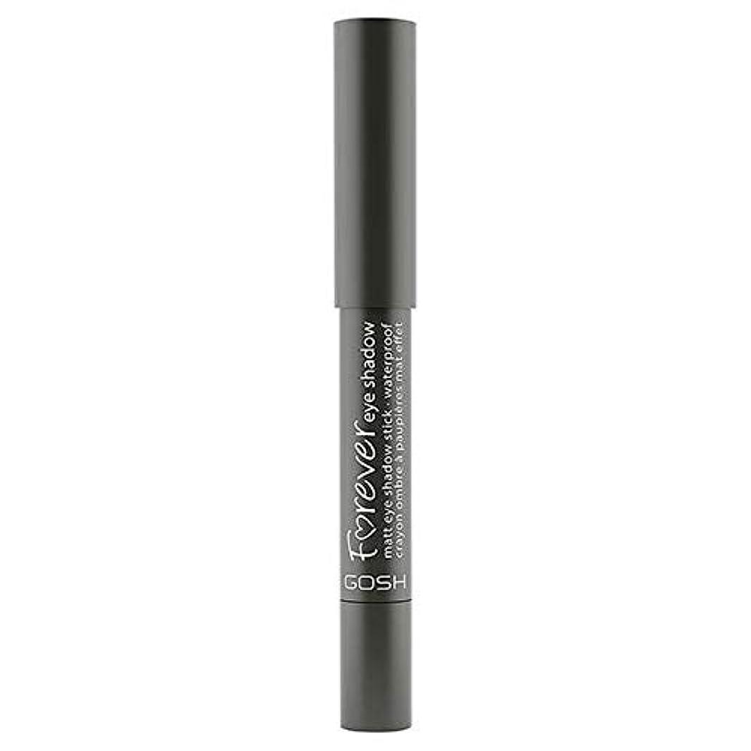 政治的見る人薬局[GOSH ] おやっ永遠にシングルアイシャドウマット12ダークグレーの1.5グラム - Gosh Forever Single Eyeshadow Matt 12 Dark Grey 1.5G [並行輸入品]