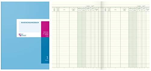 König & Ebhardt 8610641 Geschäftsbuch / Wareneingangsbuch (A4 80g/m², 40 Blatt Drahtheftung)
