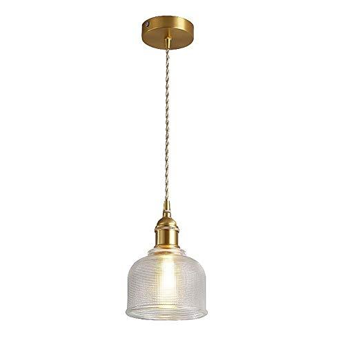 Chandelier de granja Lámpara de colgante de la lámpara de vidrio post-moderno de la lámpara de vidrio de la lámpara de vidrio de la lámpara de la sala de estar for el hogar for la lámpara colgante del