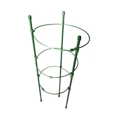 A2Z Home Solutions Garden Support 3 Piece Trellis Climbing Grow Cage with Rings for flowers Fruit Garden Plant