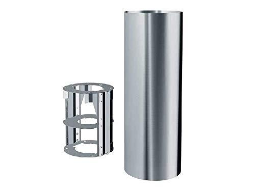 Franke 112.0049.382 Cooker Hood Extension Tube Dunstabzugshaube, Zubehör für Kamin, Edelstahl, Franke, 370 mm, 990 mm