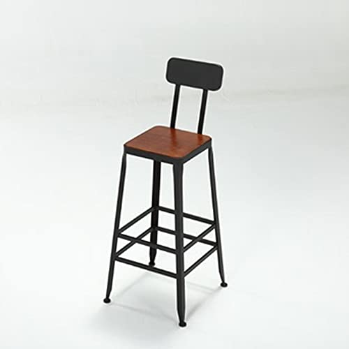 YHshop Bar Table Bar Tischhaus Balkon Tisch und Stuhl Kombination Restaurant Bar High Table Coffee Shop Milch Tee Shop Tisch und Stuhl gegen den Wandtisch Industrieller Bartisch (Size : Chair)