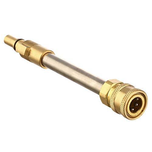 Générique Adaptateur de Pistolet de Nettoyeur Haute Pression, pour raccord Rapide de 6,35 mm, Compatible avec la Plupart des Marques #2 Black and Decker