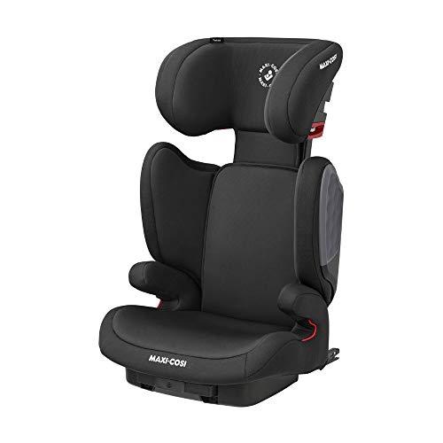 Maxi-Cosi 8767870110 Tanza Kindersitz mit ISOFIX, Mitwachsende Sitzerhöhung und Gruppe 2/3 Autositz, nutzbar ab ca. 3,5 - 12 Jahre, empfohlene Körpergröße 100 - 150 cm, schwarz, 5.7 kg