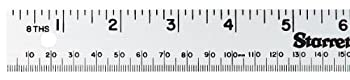 Starrett MS-2 Aluminum Straight Edge Meter Stick 39.37  Length