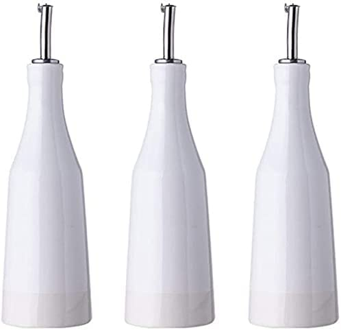 Oil and Vinegar Bottle Now free shipping Pot disp White 400ml Challenge the lowest price O