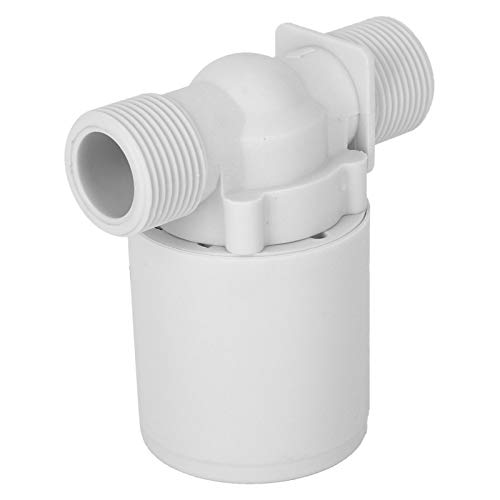 Válvula para tanques de agua, válvula de flotador de alto rendimiento, plástico de tamaño compacto para piscinas con tanques de agua alta
