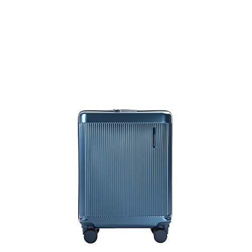 PACO MARTINEZ | Maleta de Cabina 55x40x20 | Trolley Cabina 4 Ruedas | Matt Maleta de Cabina TSA | Color Azul Teal