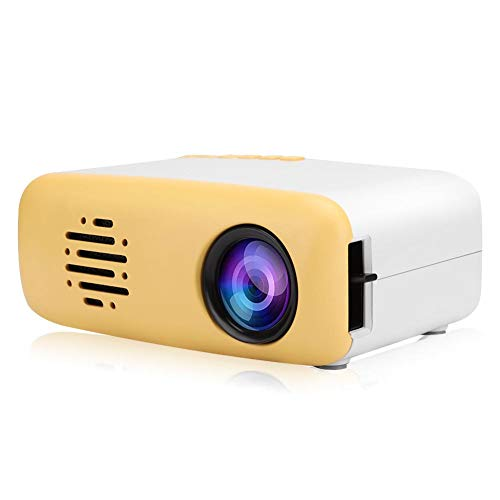 Annadue Mini HD Projector Portable LED Projector Full HD 1080P Multimedia Home Theater Projector Compatible with HDMI Smartphone PC Laptop TV Box USB Flash(U.S. regulations)