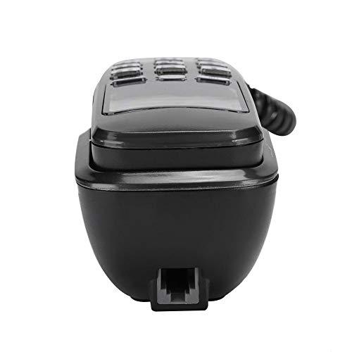Gugxiom Teléfono con Pantalla de Llamada con Cable, teléfono residencial de FSK para el hogar(Blanco)