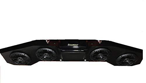 CAN AM X3 Maverick Stereo Radio Kicker 4 Speaker BT Sound bar