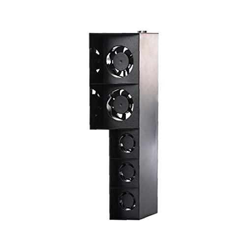 Console Cooler PS4 Cooling Fan Temperature Control 5 Fan Warmte Afvoer ventilator voor Playstation 4 Console Black, voor…