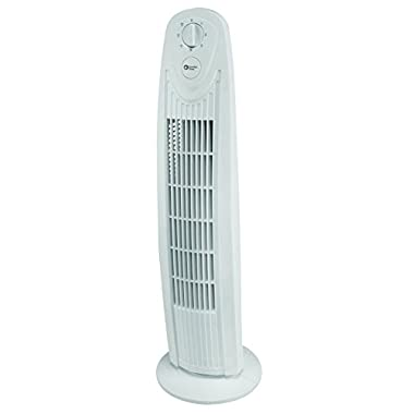 Comfort Zone 29 Inch Oscillating Tower Fan