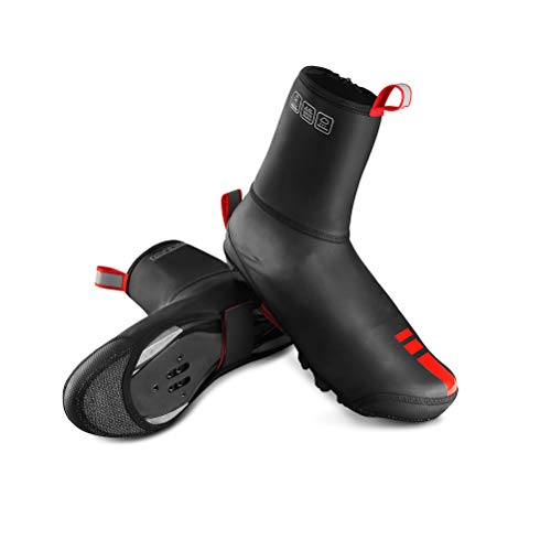 Haplws Outdoor Winddicht wasserdicht staubdicht Fahrrad Radfahren Schuh pu Leder Schuh schutzhülle mit reißverschluss