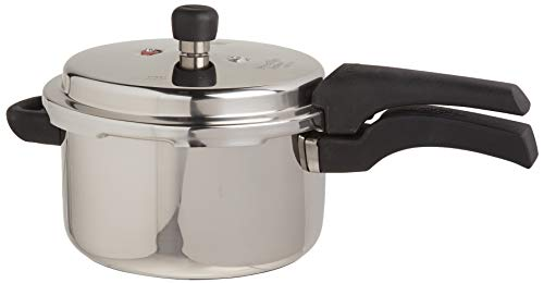 Prestige 4L Alpha Deluxe Induction Base Stainless Steel Pressure Cooker