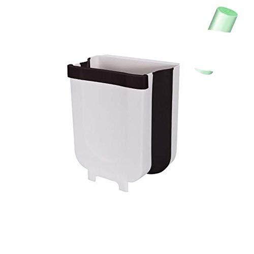 Cubo de basura plegable para cocina, cubo de basura para coche, cubo de basura para cocina, 5 l