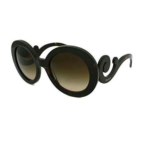 Prada 0PR27NS 2AU6S1 55 Gafas de sol, Marrón (Havana/Brown), Unisex-Adulto