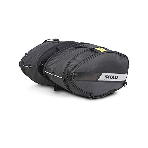 SHAD X0SL52 Satteltaschen SL52, Black, Normal