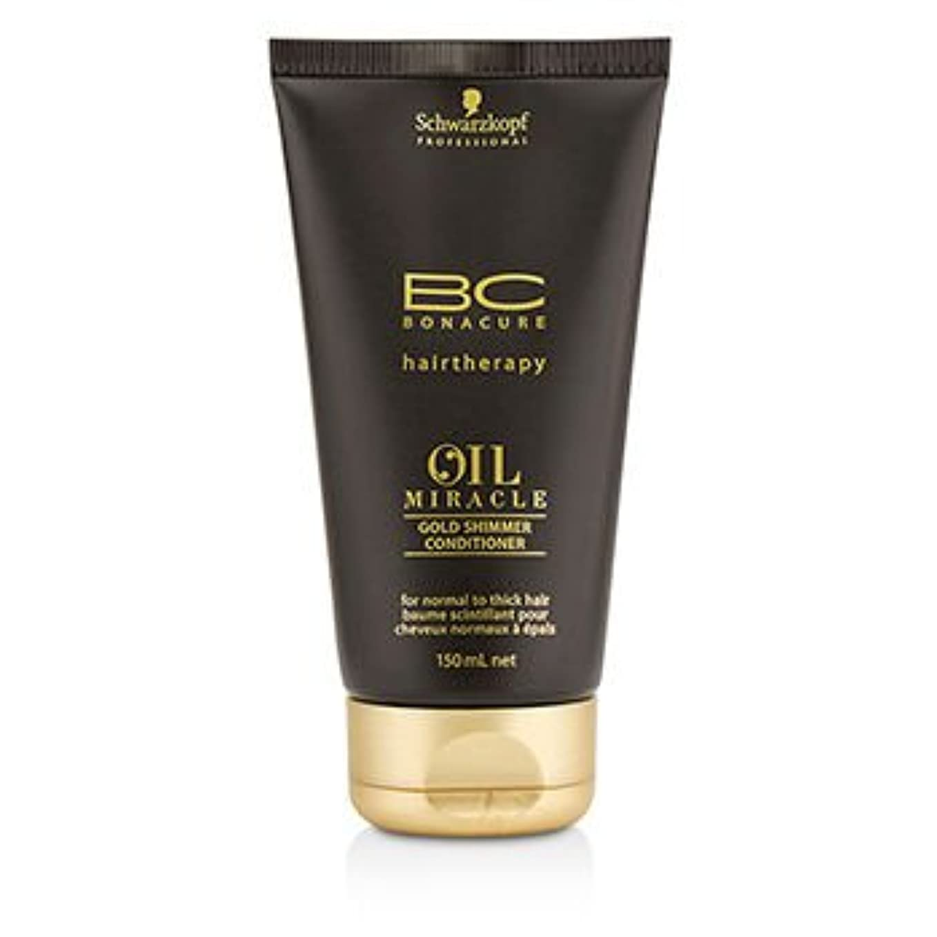 葉を拾う位置づける文句を言う[Schwarzkopf] BC Oil Miracle Gold Shimmer Conditioner (For Normal to Thick Hair) 150ml/5oz