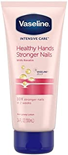 Vaseline Intensive Care Hand Cream Healthy Hands & Stronger Nails 3.4 Ounce - 2 Pack