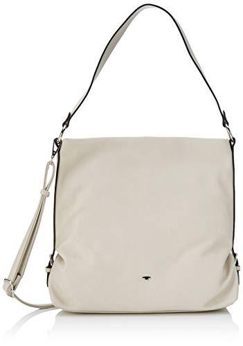 TOM TAILOR Shopper Damen, Weiß, Perugia, 32x11,5x29 cm, Handtasche, Schultertasche