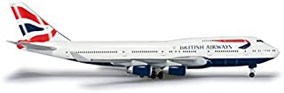 ヘルパ Wings 1/500 B747-400 ブリティッシュ・エアウェイズ 完成品