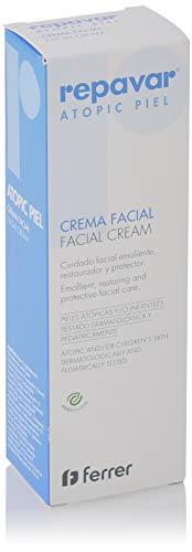 Repavar Atopic Piel - Crema Facial, Cuidado para el Rostro Emoliente, Restaurador y Protector, para Pieles Atópicas y/o Infantiles - 50 ml