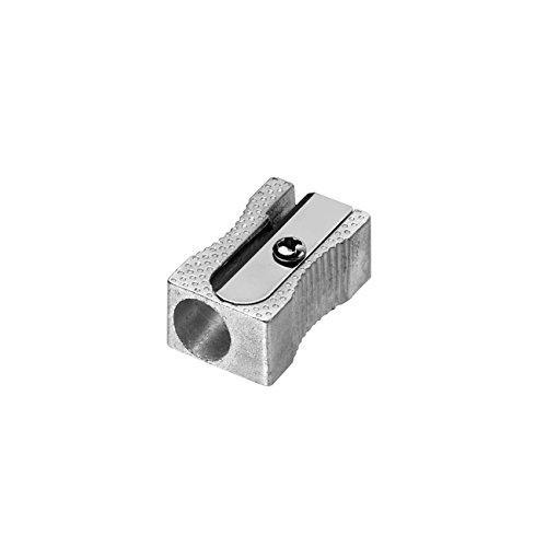 Westcott E-14209 00-I Temperino semplice, metallo, forma a cuneo, 20 pezzi