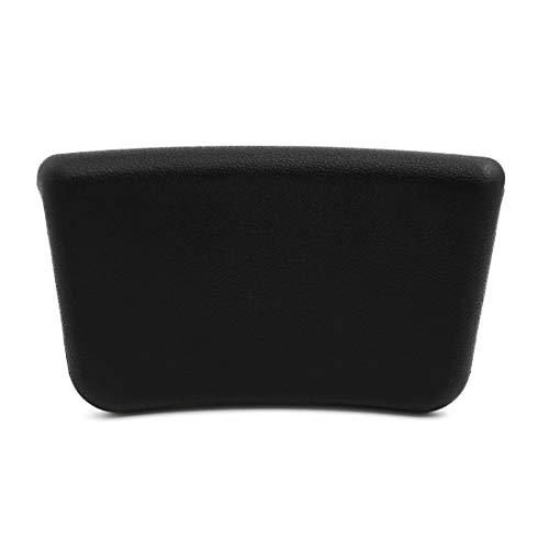 YeVhear - Cojín de espuma para spa con ventosa, color negro