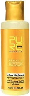 ELECTROPRIME 10X(Purc 12% Banana Flavor Keratin Treatment Straightening Hair Repair DAMA U9Y5