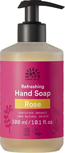Urtekram Jabón de Manos Líquido Rosa - 380ml