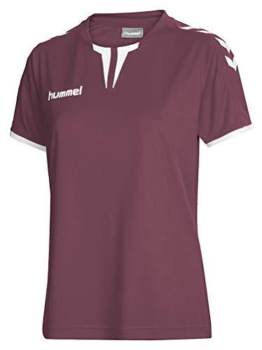 Hummel Damen Trikot Core Short Sleeve Jersey, Maroon, XS