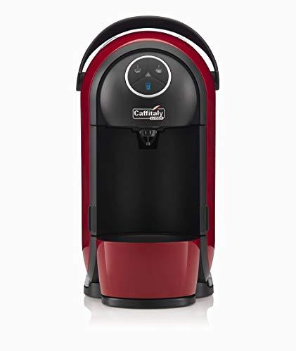Macchina caffè Caffitaly Clio S21 rossa e nera