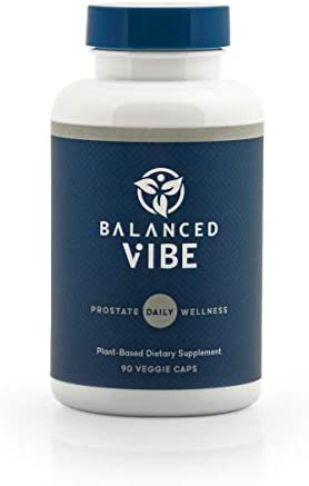 Balanced Vibe Prostate Masterblend Wellness Support for Gland Health Normal Flow Undisturbed product image