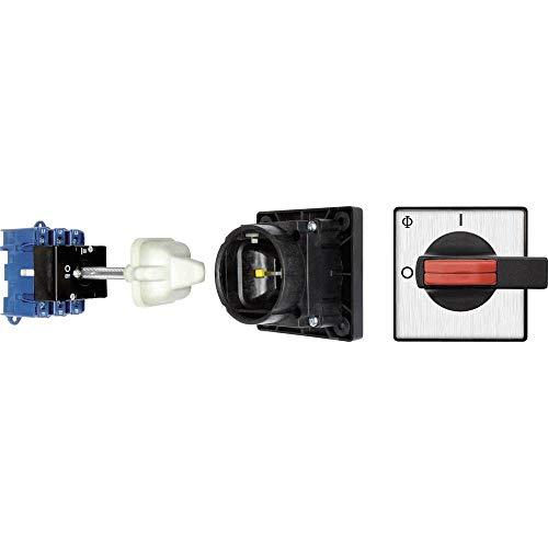 Kraus & Naimer KG100 T103/12 VE Lasttrennschalter mit Türkupplung 100 A 1 x 90 ° Schwarz 1 St.
