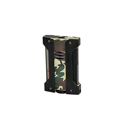ST Dupont Defi Extreme Camo Army Green Lighter, 021408