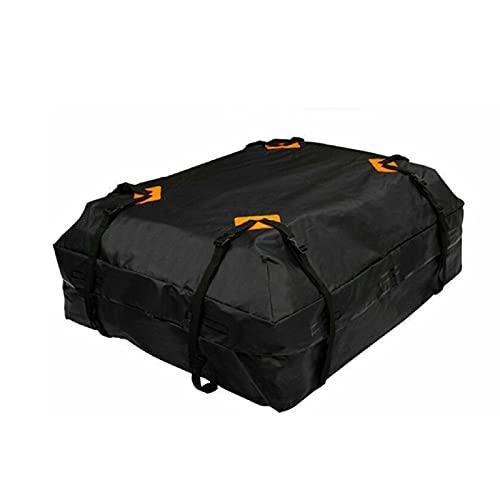 Cofre De Techo,Cofre Techo De 112x84x44cm Bolsa de techo de carga a prueba de agua a prueba de agua Portero de equipaje a prueba de agua a prueba de agua Tiempo de almacenamiento negro Viaje a prueba