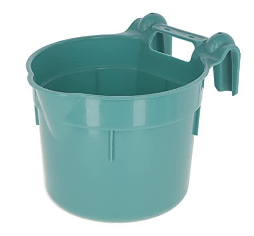 Kerbl Futtertrog zum Einhängen,Aqua. HangOn, ca. 8 ltr, aquamarin