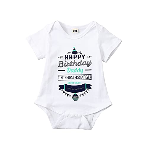 Keepwin® Body Bebe Recien Nacido Verano Ropa Bebe Niño 0-3 Meses Barata Bodies Primera Puesta para Bebés Niña Mameluco de Infantil Bautizo Mono Niños Fiesta Cumpleaños Pelele Ranitas