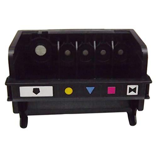 Gwxevce Druckkopf mit 5 Steckplätzen für 564 5468 C5388 C6380 D7560 309A Druckerkit Schwarz