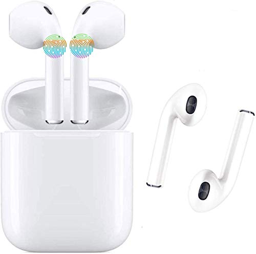 HD Bluetooth Headset - Wireless Headphones Women's Wireless Headphones Men - Sports in-Ear Headphones Wireless Headphones Stereo Headphones Sports Headphones with Microphone Mini in-Ear Headphones