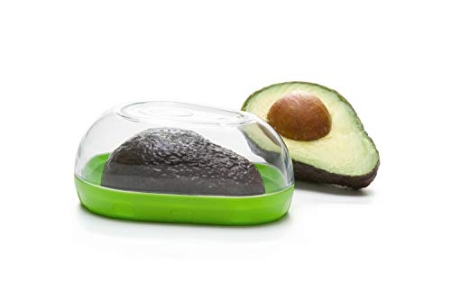 Prepworks by Progressive Avocado Keeper - Keep Your Avocados Fresh for Days, Snap-On Lid, Avocado Storage Container - Prevent Your Avocados From Going Bad