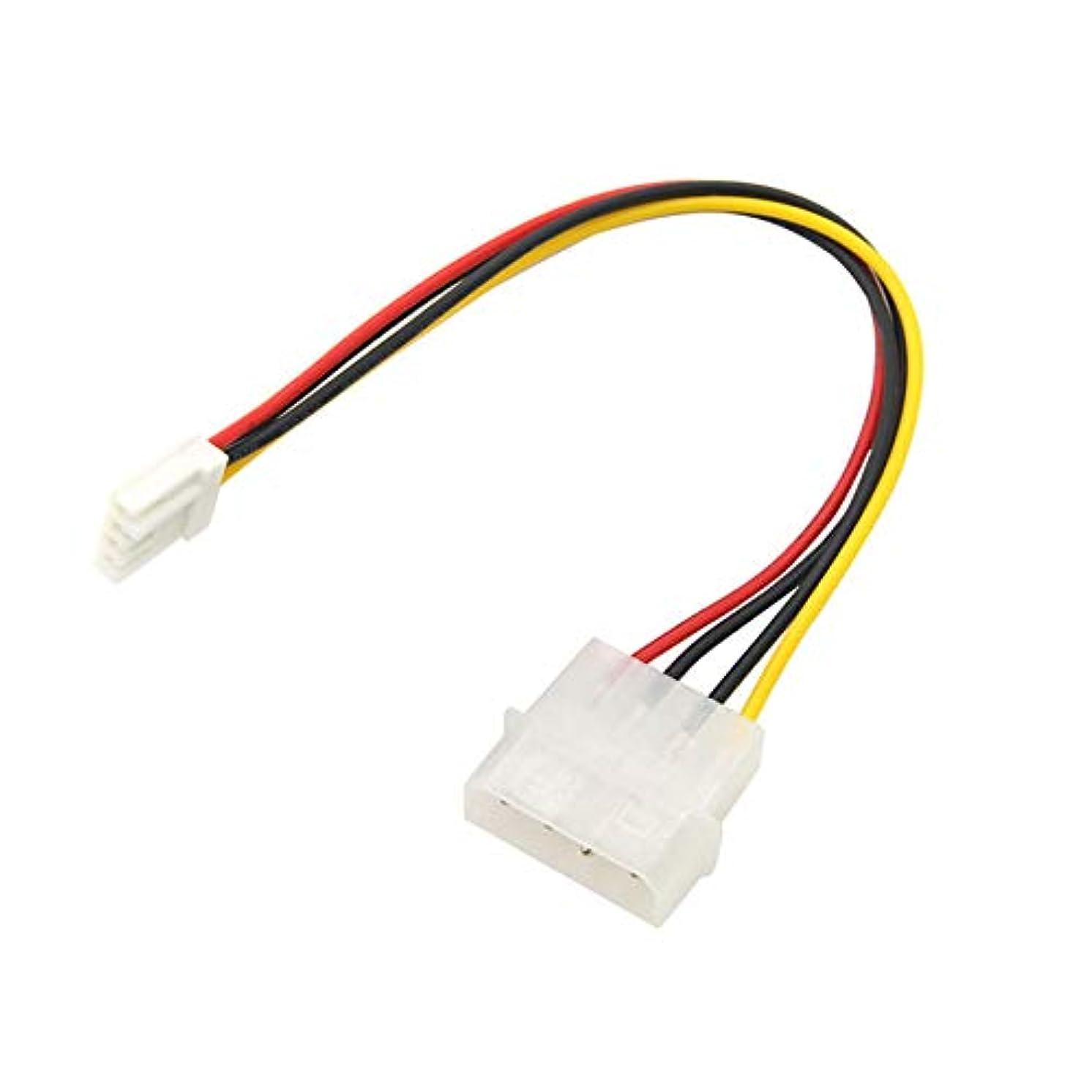 Diskette Power Adaptor,YRD TECH 4 Pin Molex to 3.5