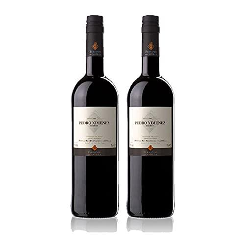 Vino dulce Pedro Ximenez Classic de 75 cl - D.O. Jerez-Sherry - Bodegas Fernando de Castilla (Pack de 2 botellas)