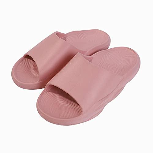 ZZLHHD Chanclas de Playa para niño niña,Zapatillas de casa en Verano, Zapatillas de Interior y Exterior, Powder_36-37,Zapatillas de Ducha Interior